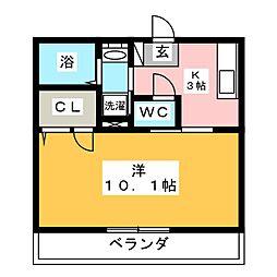 シャーメゾン島田本町[1階]の間取り