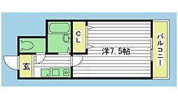 Cフィールド[2階]の間取り