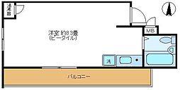 日興パレスビル渋谷[4階号室]の間取り