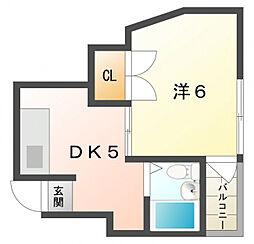 トキワパレス[1階]の間取り