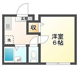 Hyu-gaグランドパレス国分寺2号館[1階]の間取り