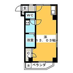 M・K−BLDG[5階]の間取り