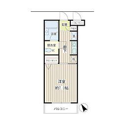 アイビー菅沢[2階]の間取り