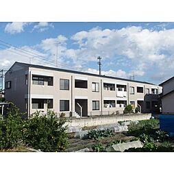 愛知県岡崎市北野町字東河原の賃貸アパートの外観