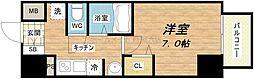 ラナップスクエア大阪城西[10階]の間取り