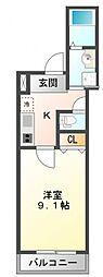 フジパレス垂水町[1階]の間取り
