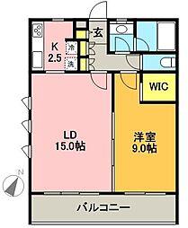 コルヌスツリーハウス[203号室]の間取り