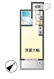 Progress錦(プログレスニシキ)[7階]の間取り
