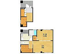 メゾンル・レーヴ3[2階]の間取り