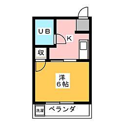 セントラルビル[4階]の間取り