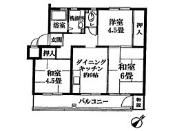 新狭山ハイツ 26号棟3階