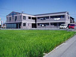 兵庫県姫路市飾磨区阿成植木の賃貸マンションの外観