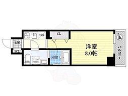 京成押上線 八広駅 徒歩10分の賃貸マンション 1階1Kの間取り
