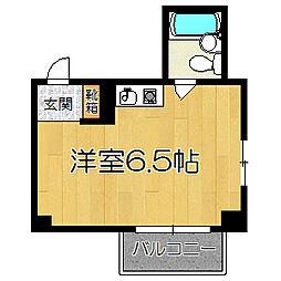 アヴェリタ姫島[506号室]の間取り