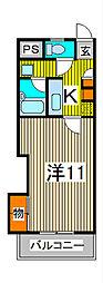 エム・ステージ並木[5階]の間取り