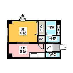 アビタシオン山田[2階]の間取り