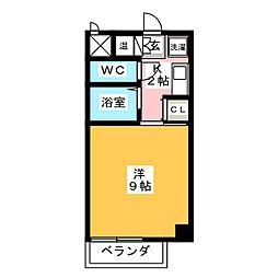 アビタシオンSEI[3階]の間取り