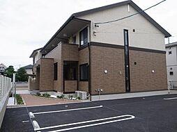 愛知県安城市百石町2丁目の賃貸アパートの外観