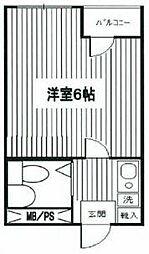 トーシンコーポ円山[3階]の間取り
