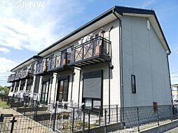 三重県松阪市内五曲町の賃貸アパートの外観