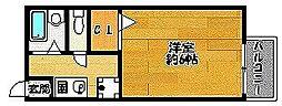 アパートメントTS[201号室]の間取り