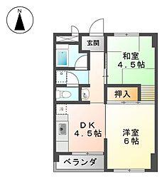 ヤマコ第一ビル[7階]の間取り