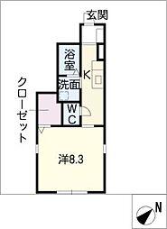 Maeyama1101[1階]の間取り