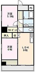 MONA-A[402号室]の間取り