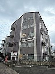 福岡県北九州市若松区本町3丁目の賃貸マンションの外観