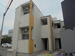 愛知県名古屋市中村区日ノ宮町2丁目の賃貸アパートの外観