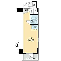 ホーユウコンフォルト鶴ヶ峰[3階]の間取り