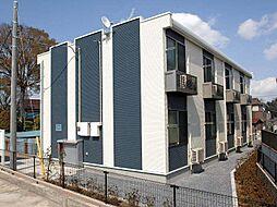 埼玉県三郷市上口の賃貸アパートの外観