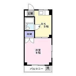 サンハイム寿[2階]の間取り