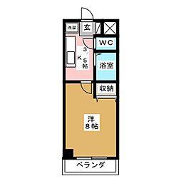パルグランドマンション[3階]の間取り
