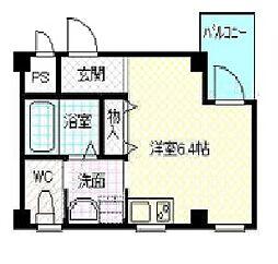 兵庫県姫路市古二階町の賃貸マンションの間取り