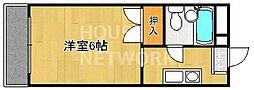 アビターレ岩倉[301号室号室]の間取り