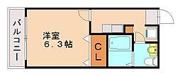 カーサバルツァII[2階]の間取り