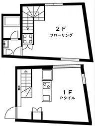 オリーブ笹塚B[203号室号室]の間取り