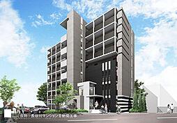 大阪府高槻市上牧南駅前町の賃貸マンションの外観