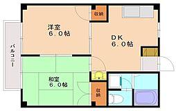 コアラハウス[1階]の間取り