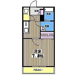 サンセリテ調布[3階]の間取り