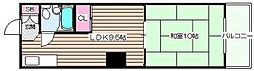 コーポサンプラザ[2階]の間取り