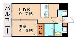 ランドマーク松島[6階]の間取り