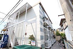 東京都調布市深大寺東町2丁目の賃貸アパートの外観