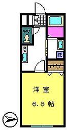 トレセリア椚田[2階]の間取り