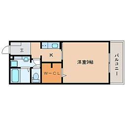 静岡鉄道静岡清水線 新清水駅 バス20分 白浜町下車 徒歩1分の賃貸アパート 1階1Kの間取り