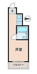 五反田ダイヤモンドマンション[4階]の間取り