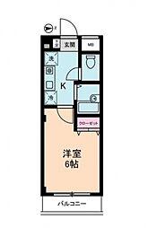 プレミアムバリュー板橋徳丸[3階]の間取り