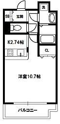 インザグレイス東三国[10階]の間取り