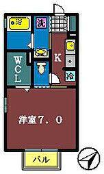 ラヴァ・フロー[1階]の間取り